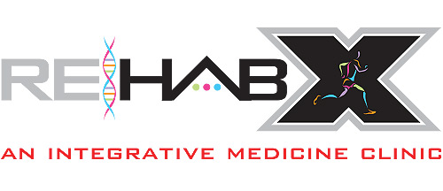 Rehab-X – INTEGRATIVE HEALTH & NUTRITION Logo